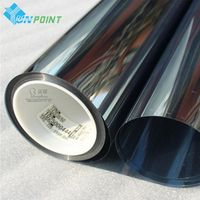 Transparent vinyl mirror stickers window glass films sticker self adhesive insulation one-way mirror film sunscreen walls paper