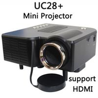 UNIC Multidimension UC28 household mini LED projector Support computer TV USB flash