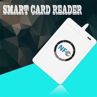 1 set Professional USB ACR122U NFC RFID Smart Card Reader Writer For all 4 types of NFC (ISO/IEC18092) Tags + 5pcs M1 Cards Hot