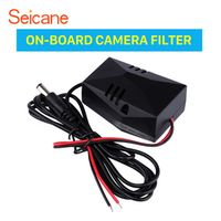 Car ON-BOARD CAMERA FILTER Adapter Backup Rearview Video Power Wire Harness Capacitor free shipping Easy to install