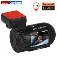Conkim Mini 0805P Car Dash Camera 1296p 30fps H.264 WDR GPS DVR Video Registrar