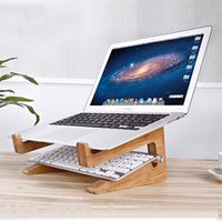 seenDa Multifunction Detachable Folding DIY Wooden Desktop Stand Dock Bracket