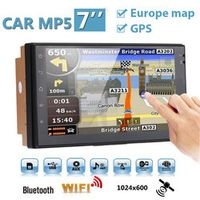 Vehemo Car MP5 Player With GPS navigation EU map 7 inches Android 6.0 Phone