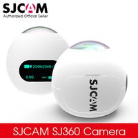 SJCAM SJ360 2K Wifi Mini Panoramic VR Camera 2048*2048 30fps Ultra HD 360*220 Degree