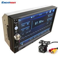 Excelvan Universal 7'' 2 Din Bluetooth V3.0 Car Audio MP5 Player Touch Screen In Dash