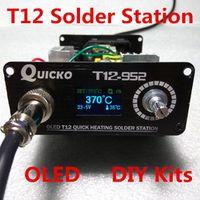 T12 solder iron DIY kits/Unit QUICKO Soldering Station parts/OLED DigitalTemperature