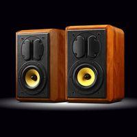 "QUEENWAY Swans M1 2.0 Home Stereo Bookshelf Speaker 5"" Bass-midrange Driver"