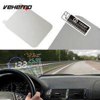 Vehemo 14*10CM Audio Reflective Premium OBD HUD Protection Display Exclusive Film