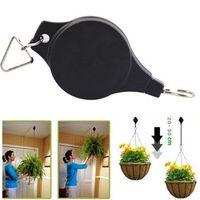 SANGEMAMA Retractable Pulley Hanging Pull Down Baskets