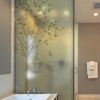 JIANING No plastic electrostatic glass film bathroom scrub