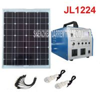 JL1224 Alternative Energy Generators 350W Lighting System Generator With Solar Panels