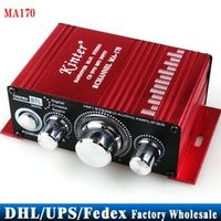 (Wholesale) 10pcs/lot MA170 2 Channel Hi-Fi Stereo Amplifier Car Boat Radio Free Shipping