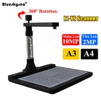 blueskysea L1-TS High Speed HD 10MP Dual Book File A3 Document For 3D Object CMOS
