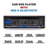AGETUNR Car DVD Player Radio Stereo Bluetooth Phone AUX-IN MP3 FM/USB/1