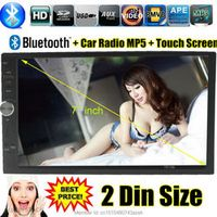 PolarLander Car Stereo radio MP4 MP5 Audio Player 12V Bluetooth/TF/USB/MMC AUXINl