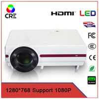 top-selling very low data show beamer 720p 200inch screen portable projector CRE