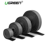 Ugreen Nylon Cable Winder Wire Organizer Eearphone Holder Mouse Cord Protector