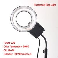 m1zeng NG-22C Fluorescent ring light Lamp 22W 5400K Daylight for canon nikon camera