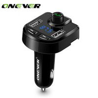 Onever FM Transmitter Aux Modulator Bluetooth Handsfree Car Kit Audio MP3 Player