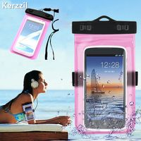 Kerzzil Mobile Phone Waterproof Bag Case for iPhone 7 6 6s Plus 5s SE Underwater