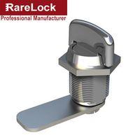 R Rarelock Supplies Keyless Handle Cabinet Cam Lock for Box Cupboard Locker Yacht Car