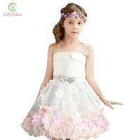 SSYFashion Sweet Flower Girl Dresses for Wedding A-line
