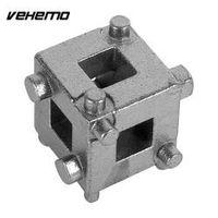 Vehemo Car Vehicle Rear Disc Brake Piston Retractor Tool Silver Cube Calliper