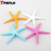 TPRPLH 8pcs/lot 10cm 4 colors Starfish resin Finger Star