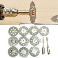 OOTDTY Rotary Tool Circular Saw Blades Cutting Wheel Discs Mandrel Dremel Cutoff 22mm