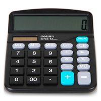 Schoffice Genuine Desktop Dual Power General Purpose Calculator For Office Working No