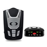Luturadar Car radar detector 16 full band anti police laser speed gun with 360 degree