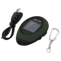 GPS Receiver Location reliable Tracker Handheld Keychain USB Rechargeable Real Time