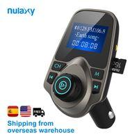 Nulaxy Car MP3 Player Bluetooth FM Transmitter Hands-free Car Kit Audio Modulator