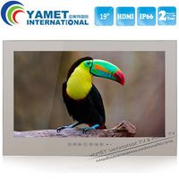 YAWATER Free Shipping IP66 19 inch bathroom TV / Television with Mirror Screen