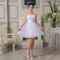 CG JunPing Wing Short Prom Dresses Party Dress