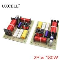 UXCELL 2Pcs 180W 3 Way Audio Speaker Frequency Divider Aplifier Crossover Filters