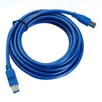 Fasdga ETC Hot USB3.0 Blue cable Series A male / B USB -B type 5m
