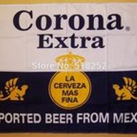 Corona Extra Beer Flag 3x5 FT 150X90CM Banner 100D Polyester flag  brass grommets 091, free shipping