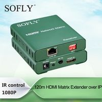 120m HDMI Network Matrix support multipoint to by IR control