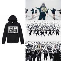 Aganmi KPOP BIGBANG ONE KIND BLACK fleeces coat long sleeve