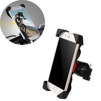 cycle zone Bike Phone Handlebar Holder Non-slip Universal 360 Rotating Clip Stand