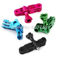 SOONSUN 1pcs CNC Aluminum Mount 3 Way Pivot Arm Extension Set for GoPro Hero 5 4/3