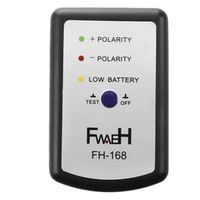 FGHGF Black Speaker Polarity Tester PH Phase Meter/Phasemeter for Auto Car