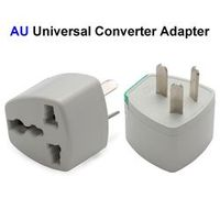 Universal US EU UK AU Plug Adapter Converter America European To Australia AC Travel Power Electrical Outlets