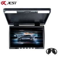 XST 15.4 Inch Car Flip Down 1024x760 TFT LCD Monitor Roof Mount Player IR Transmitter