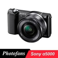 "Sony A5000 camera Alpha a 5000 Mirrorless Digital Cameras with 16-50mm Lens (Black) -20MP -3.0"" LCD -Full HD 1080 Video -Wi-Fi"