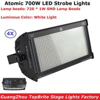 minimum 4Pcs/Lot Martin Atomic LED DMX Super Bright 700W White Color Strobe Lights