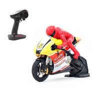 RIDER R-100 RTR 1/10 Brushed RC Motorcycle with 2.4G 2CH Transmitter