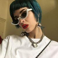 ROBESBON Cat Eye Sunglasses Women Sun Glasses for Women