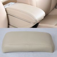 CITALL # New DIY Beige Leather Front Console Lid Armrest Cover Waterproof Perfection for Honda Accord 1998 1999 2000 2001 2002